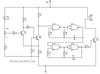 热敏电阻和温度的电阻之间的关系是负温度系数